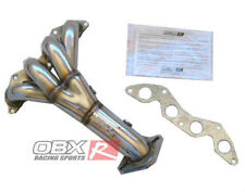 OBX Exhaust Header Manifold FIT 2001 to 2005 Civic DX LX 1.7L SOHC