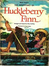"""Mark Twain's The Adventures Of Huckleberry Finn"" Adapted by Mary Cushing - HC"