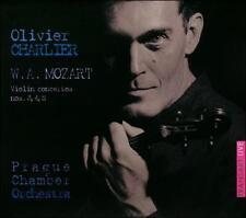 MOZART: VIOLIN CONCERTOS NOS. 3, 4 & 5 (NEW CD)