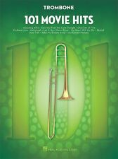101 film hits pour trombone apprendre à jouer pop rock chart film songs music book