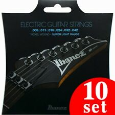 Ibanez IEGS6 Electric Guitar Strings 6 String / Super Light 10sets Free Shipping