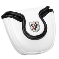 Heel Shaft White Skull Mallet Putter Cover Headcover Magnet for Odyssey 2 ball