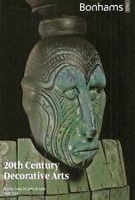 Bonhams /// 20th Century Deco Design Arts Post Auction Catalog June 2013