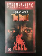 Stephen King The Stand Vintage Double Box VHS Tape English dutch with subs