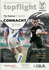 Ospreys v Bath Anglo Welsh Powergen Cup 9 Oct 2005 Liberty RUGBY PROGRAMME