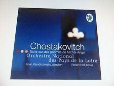 Chostakovich Michel Ange suite KARABTCHEVSKY Calliope