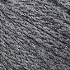 100g Hanks - Cascade Eco Cloud - Undyed Merino/Alpaca - Charcoal #1810 - $21.95