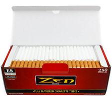 Zen FULL Flavor KING Tubes Box 250 ct. Filter Tubes RED - Cigarette Empty Tubes