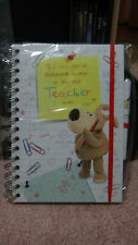 Boofle Teacher Gift Notebook / Diary and Pen