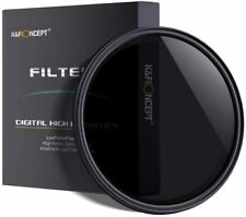K&F Variable ND Filters ND2 - 400 HD , Lens Protector Concept Digital High Def