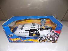 Hot Wheels Cop Rods Series 8 inch long El Segundo Police 1949 Mercury -Mip