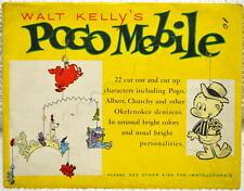 Walt Kelly POGO MOBILE ORIGINAL ENVELOPE SEALED / UNOPENED RARE Okefenoke 1954