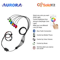 Aurora  Rock Lights 6 Pack  Bluetooth App Controlled