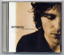 WITNESS UK Before The Calm - CD a097