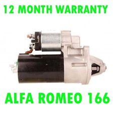 ALFA ROMEO 166 2.0 2.5 3.0 3.2 V6 1998 1999 2000 > 2007 RMFD STARTER MOTOR