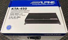 Alpine KTA-450 4-Channel Car Power Pack Amplifier 50 watts RMS x 4
