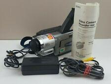 Sony Handycam Ccd-Trv68 Camcorder w/ Accessories, 8mm Hi8 Analog Video Camera