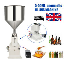 More details for a-02 pneumatic filling machine for cream & shampoo & cosmetic,liquid 5~50ml 2020
