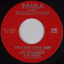 JOE STAMPLEY & UNIQUES: Not too Long Ago PAULA Garage Northern Soul 45 Hear