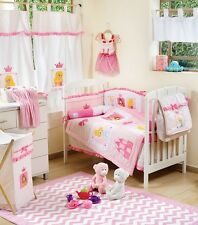 BRAND NEW DISNEY LITTLE PRINCESS 4 PIECE  BEDDING COT SET