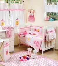 Brand New Disney Little Princess 4 Piece Bedding Cot Set