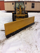 New 12' Super Duty, Hydro-Turn, Wheel Loader Snowplow For Cat 906,908,906H,908H