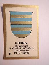 Salisbury / Sammelbild Abdulla Wappen