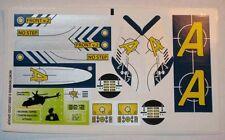 LEGO 8971 - AGENTS - Aerial Defense Unit - STICKER SHEET