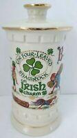 Old Fitzgerald Distillery The Four-leaf Shamrock on Irish Charm Decanter 1977