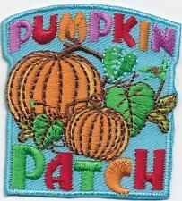 Girl Boy Cub PUMPKIN PATCH Blue Visit Fun Patches Crests Badges SCOUT GUIDE Tour