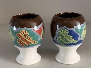 2 X Vintage Cadbury's Creme Egg - Egg Cups