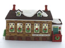 Dept 56 New England ~ Stoney Brook Town Hall ~ Mint In Box 56448
