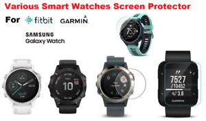 Tempered Glass Screen Protector Cover For Samsung Galaxy 46mm Garmin Smart Watch