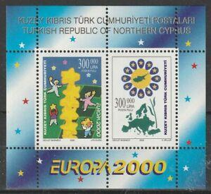 Europa Cept 2000 Türk. Zypern Block 19 **