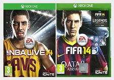 FIFA 14 & NBA LIVE 14 Xbox One - Sport Double Pack - New and Sealed