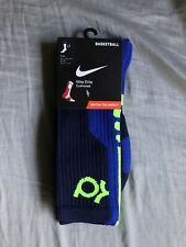 Nike Elite Cushioned KD Basketball Socks - New - Size Large 8-12 Kevin Durant