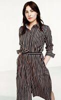 Anthropologie Marimekko Shirt Dress 36 Trina Piccolo Striped Belted A Line $325