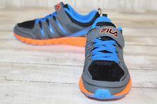 Fila Crater 4 Sneaker - Kid's Size 13, Blue & Black