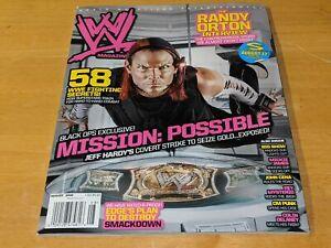 JEFF HARDY WWE MAGAZINE Wrestling August 2008 Issue Edge/Randy Orton/Big Show+