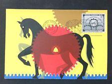 Onu ny Mk 1953 caballos caballo Horse cheval Cavalli Carte maximum card mc cm d1297