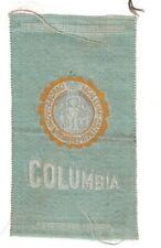 1910s S25 tobacco / cigarette / college silk Columbia University