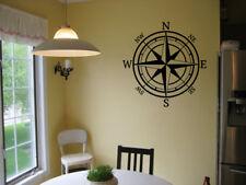 Compass Nautical Vinyl Wall Art Decal Sticker Decor Words Lettering Mural