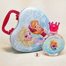 FROZEN by Disney 3 Pc Set: 100 ml/3.4 oz EDT Spray, Ring, & Heart-Shaped Tin Can