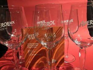 Aperol Spritz, Gläser, 6 Stück, Original,