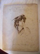 Partition J'Implore Valse Madame de Lilo de la Scala de Paris Lerichomme 1909