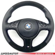 Volant en Cuir BMW E46 E39 Z3 M-LENKRAD avec Alcantara et Couverture Airbag