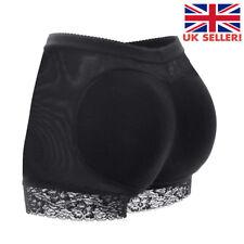 Women Buttock Padded Underwear Briefs Knickers Bum Lift Enhancer Shaper Pants MC