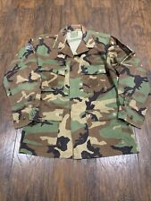 US Military Vintage Genuine Camo Shirt Authentic Camouflage Men's PRE-OWNED #6