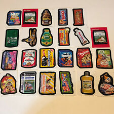 2007 TOPPS WACKY PACKAGES TRADING CARDS MIXED LOT 23 stickers poop witch puppies