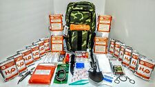 12 Day Premium Disaster Emergency Survival Kit Bug Out Bag HURRICANE FOOD-WATER